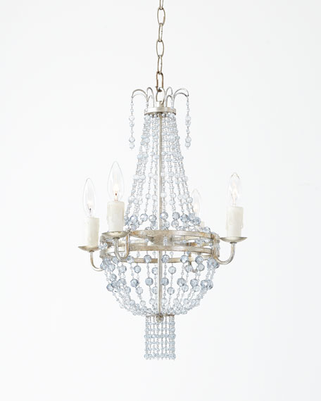 Maris 4-Light Mini Beaded Chandelier