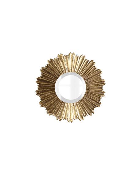 Soliel Small Gold Mirror Neiman Marcus