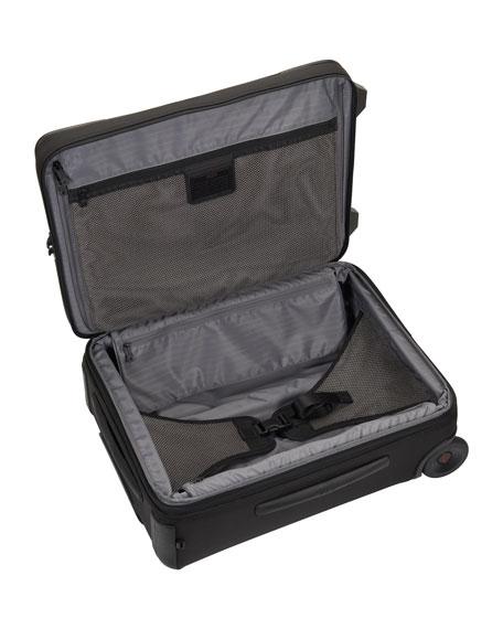 Alpha 2 Black International Expandable Two-Wheeled Carry-On Luggage