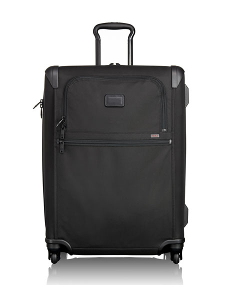 Alpha 2 Black Expandable Four-Wheeled Short-Trip Packing Case Luggage