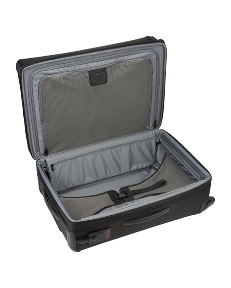 Alpha 2 Black Expandable Four-Wheeled Medium-Trip Packing Case Luggage
