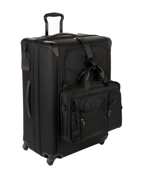 Alpha 2 Black Expandable Four-Wheeled Medium-Trip Packing Case Luggage