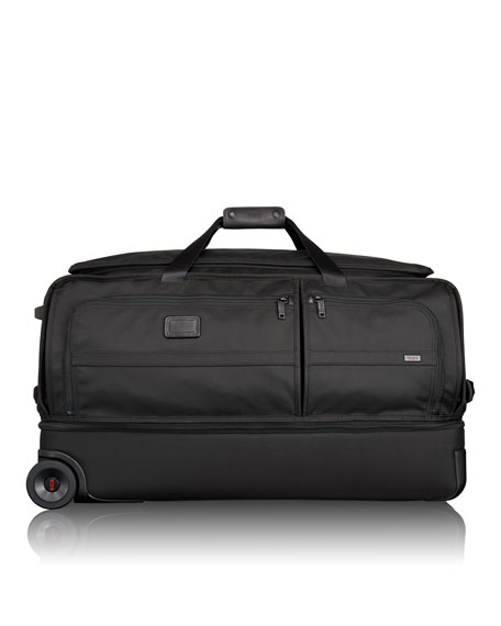 Tumi Alpha 2 Black Extra-Large Wheeled Split Duffel