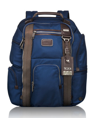 Tumi Alpha Bravo Baltic Kingsville Deluxe Brief Pack