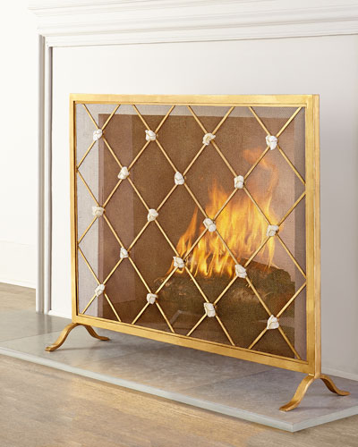 Giallastro Fireplace Screen