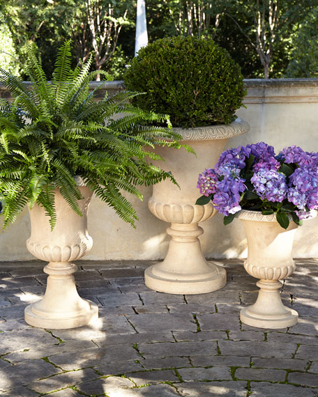 Andros Traditional Urn Planters & Matching Items