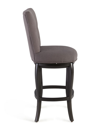 Dylin Tufted Swivel Barstool