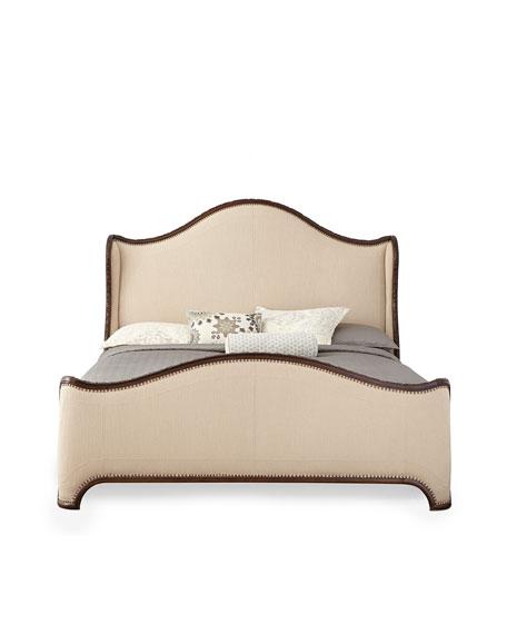Laine Walnut Queen Bed