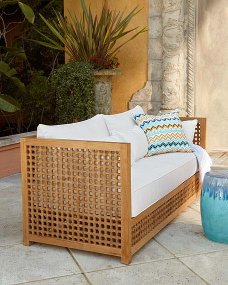 Neiman Marcus Maya Teak Outdoor Furniture