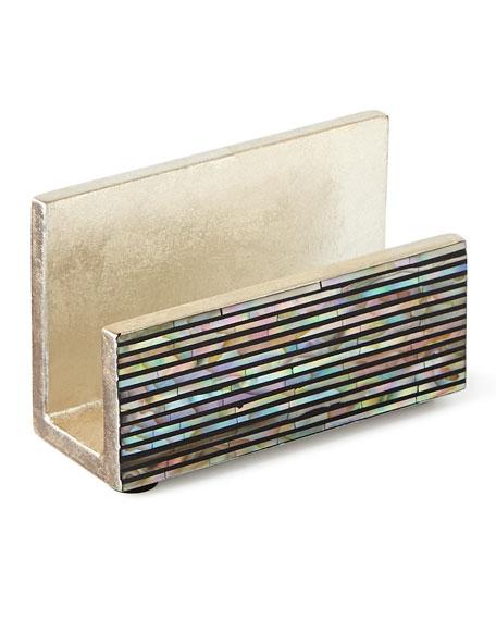 Regina-Andrew Design Abalone Shell Business Card Holder