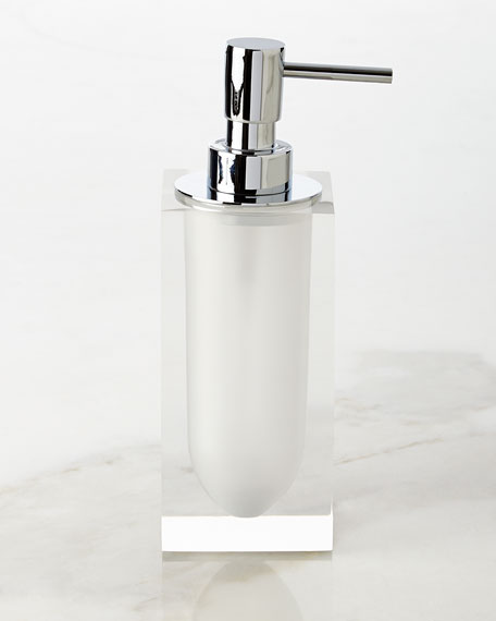 Jonathan Adler White Hollywood Pump Dispenser