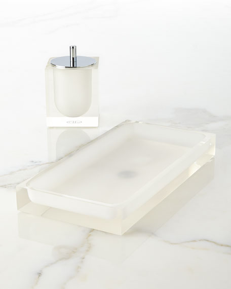 Jonathan Adler White Hollywood Bath Tray
