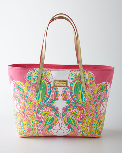 Hotty Pink Resort Tote
