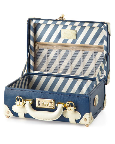 Blue Entrepreneur Vanity Case