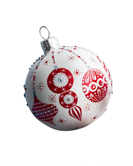 Patricia Breen Beguiling Orb Christmas Ball Ornament