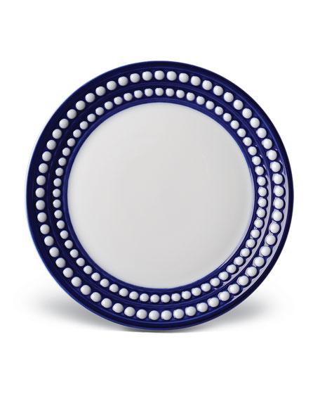 L'Objet Perlee Bleu Bread & Butter Plate