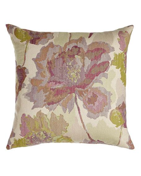 English Garden Devon Bloom Outdoor Pillow