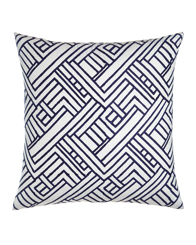 American Summer Navy Hash Pillow