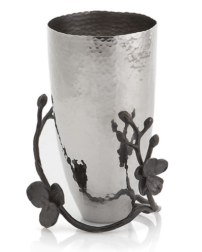 Black Orchid Small Vase