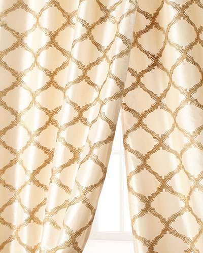 """108""""L Versailles Curtain"""