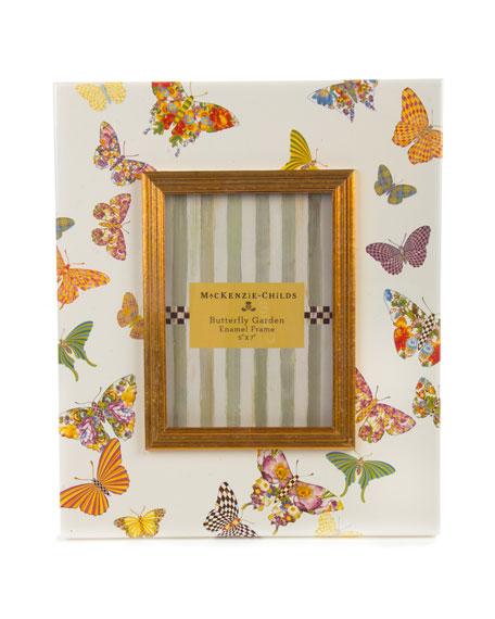 MacKenzie-Childs White Butterfly Garden 5
