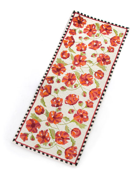 MacKenzie-Childs Trailing Flowers Centerpiece Table Runner