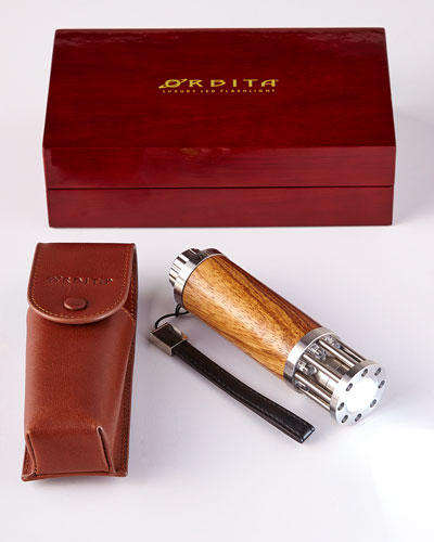 Zebrawood Luxury Flashlight