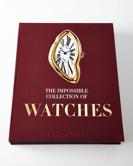 Neimanmarcus Impossible Collection of Watches Book