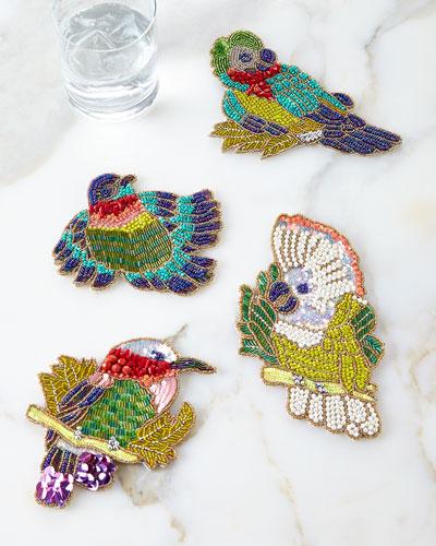 Rain Forest Coasters, 4-Piece Set