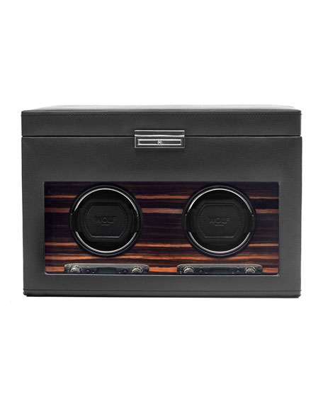 WOLF Roadster Double Watch Winder