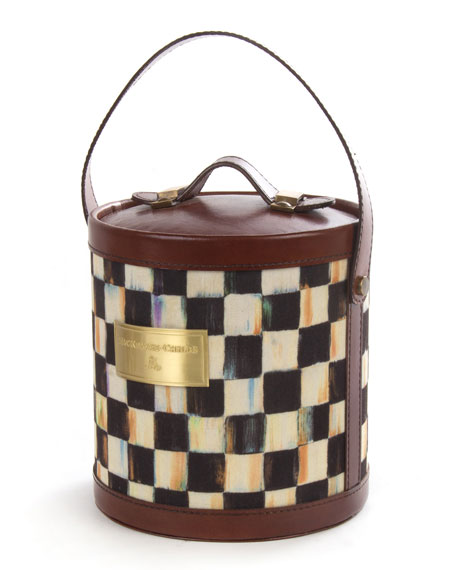 MacKenzie-Childs Courtly Expedition Ice Bucket