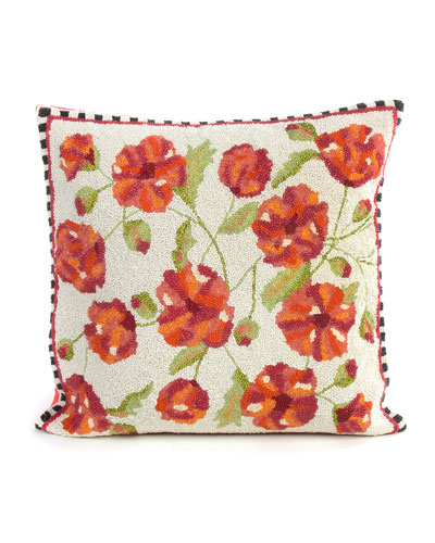 Trailing Flowers Pillow