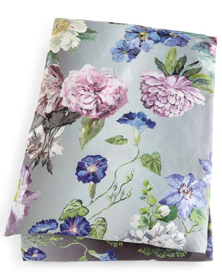 Alexandria King Floral Sateen Duvet Cover