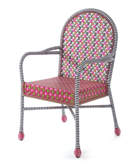 Flower Market Outdoor Cafe Chair