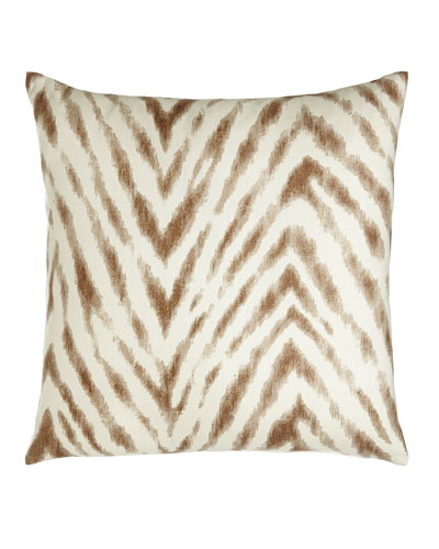 Cafe Zebra Pillow