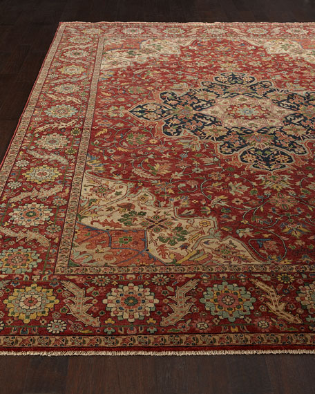 Royal Garden Serapi Rug & Matching Items