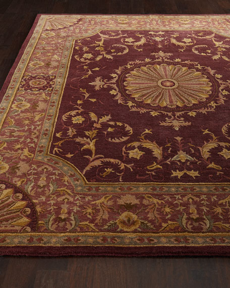 Safavieh Burgundy Oaks Rug
