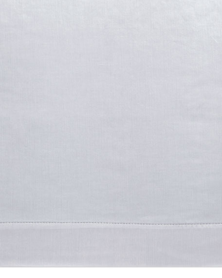 California King 500TC Carina White Fitted Sheet