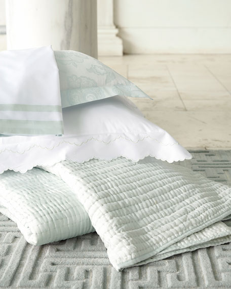King 500TC Piazza Pillowcase with Border