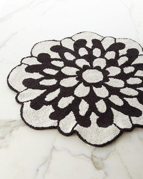 missoni home otil reversible flower shaped bath rug neiman marcus