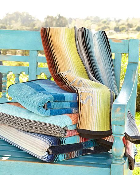Kassatex Spiaggia Ombre Beach Towel