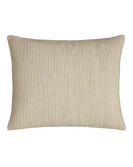 Donna Karan Home Moonscape Corded Pillow, 16