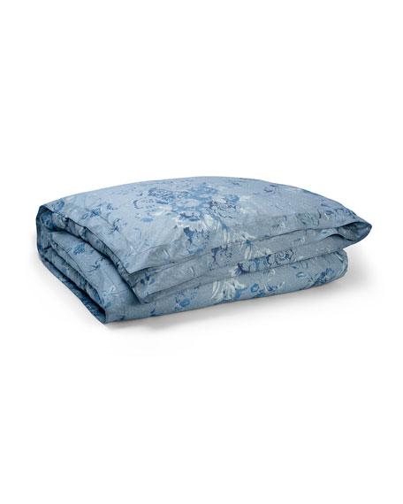Indigo Montauk Full/Queen Floral Comforter