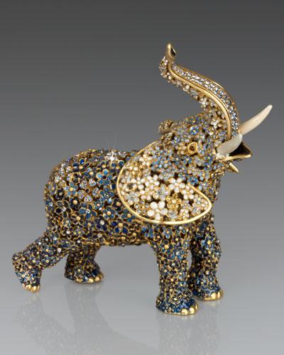 Sadie Boxwood Elephant Figurine