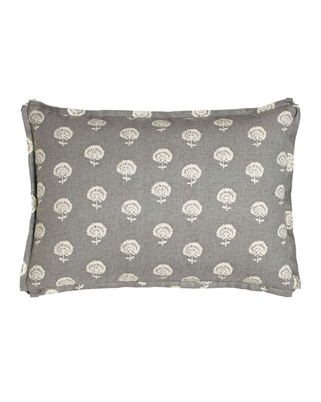Legacy Home Avignon Pillow with Gray Background, 14
