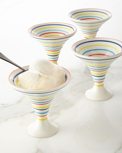 4 Ice Cream Bowls