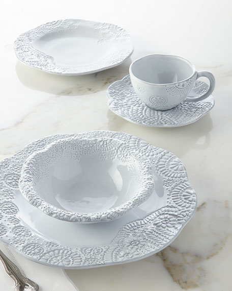 12-Piece Lace Dinnerware Service