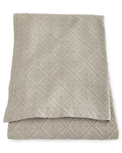 "Full/Queen Dante Matelasse Coverlet, 96"" x 100"""