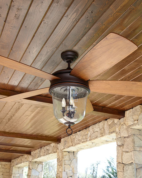 Fredericksburg Indoor Outdoor Ceiling Fan Neiman Marcus