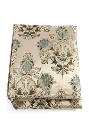 Austin Horn Collection Queen Rochelle Floral Duvet Cover
